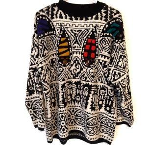 Vintage Kitty Hawk by Vivian Wang Pattern Sweater